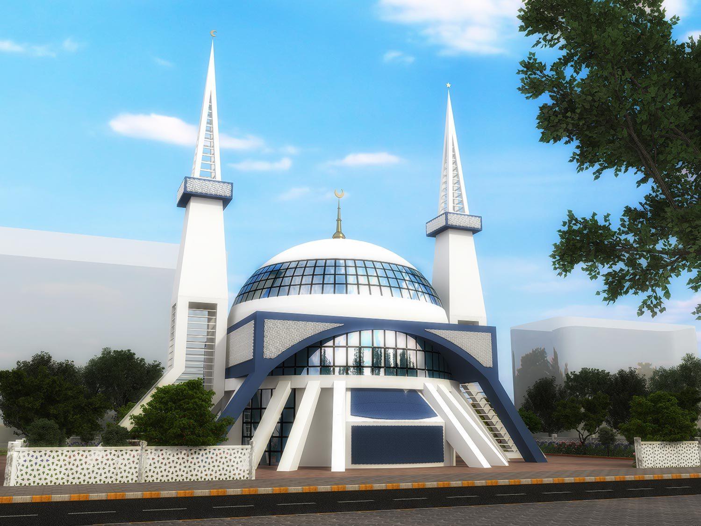 Camii Tasarımı - ÇAYARASI ALANYA