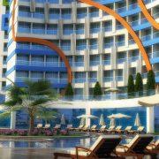Otel Mimarisi - DIAMOND HILL ÖZDEMİR İNŞAAT Alanya