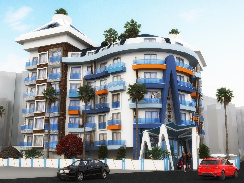 Otel Tasarımı - FATİH OTEL