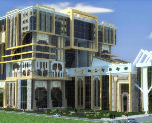 Alışveriş Merkezi - Avan Proje - Şam / Suriye