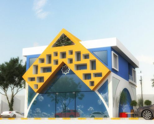 Petrol Ofisi Tasarımı - YÜCEL PETROL Alanya